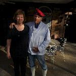 Leland and Sally bidding adieu