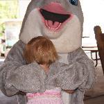My kids have always loved hugging Splash after the Dragon Wagon