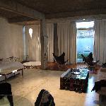 room in the main floor