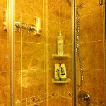 Beautiful double shower.