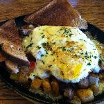 The Cajun Skillet - my husband kept trying to pick at it!