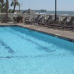 one of the pools with chairs to lounge in...