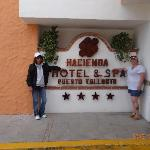 Front of Hotel!