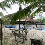 Lagoon- whereby you do your snorkeling/kayaking here