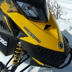 Rotax 600 ACE Snowmobile