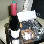Gift from hotel