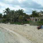 Beach at Villa Kiin