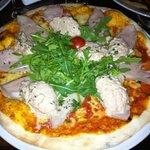 Pizza mit Ricotta