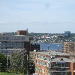 View of Halifax from The Citadel and Old Town Clock.