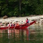 Canoe tour in Burrard Inlet