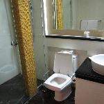 Bathroom.  Liked the separate shower