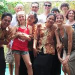 Putra and staff