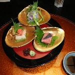 "Three kinds of ""Sashimi"""