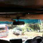 An all too common occurance on TZ roads!
