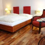 Zimmer mit Doppelbett / Room with double bed