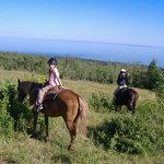 Summit of ride