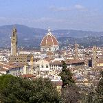 View of Florence from Boboli Garden in - Oltrarno