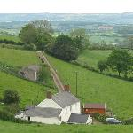 beautiful views from North Down Farm B&B