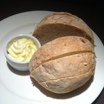 Bread served upon arrival