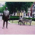 James M. Curley Statues in Boston