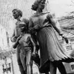 Irish Famine Memorial in Boston