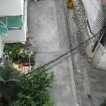 Ausblick in den Hinterhof