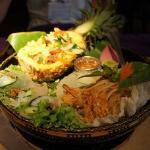 前菜盛り合わせ~アジアの香りムンムン