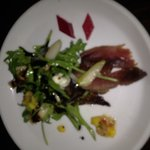 barrielicious duck prosciutto