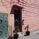 Riad Opale front door
