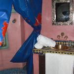 la douche de la chambre fleur do