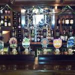 excellent selection of draught ale