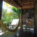 Coconut Bungalow - balcony