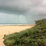 Cyclone Lua on its way through Cable Beach
