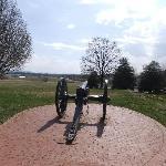 Antietam - cannon facing south