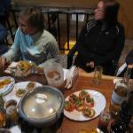 Communal dinner