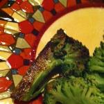 burnt/scorched broccoli...yuck!