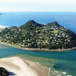 Aerial view of Paku Hill Tairua