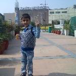 Aayan in Great India Palace Amusement Park