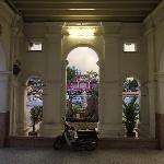 The beautiful portico