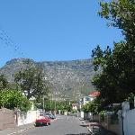 Breda Street mit Blick Richtung Tafelberg