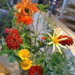 beautiful local flowers, too