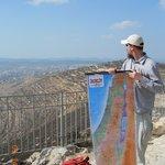 Rabbi Eitan in the Judean Mountains near Jerusalem