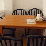 La mesa del salón