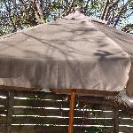 Deck umbrella
