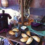 Empanadas im Borravina