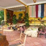 patio accueil