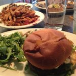 amazing fries with the Kendall square burger, yum!