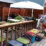 local, organic farmers market