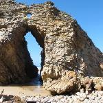The arch on Keurboomstrand (beach)