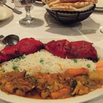 chicken Tandoori platter